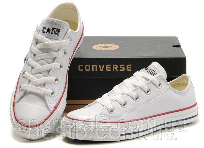 Низкие кеды Converse All Star (белые) (66000-000) купить в Украине ... e38f0225585f5