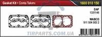 Ремкомплект прокладок компрессора WABCO, DAF 95XF (1331146/9115040032/A67RK054B | 1600 010 150)