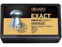 Пули для пневматики Diabolo EXACT PREMIUM 4,5  0,547 гр  200 шт