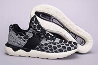 Кроссовки Adidas Tubular Runner Primeknit Black Core (55000-001)
