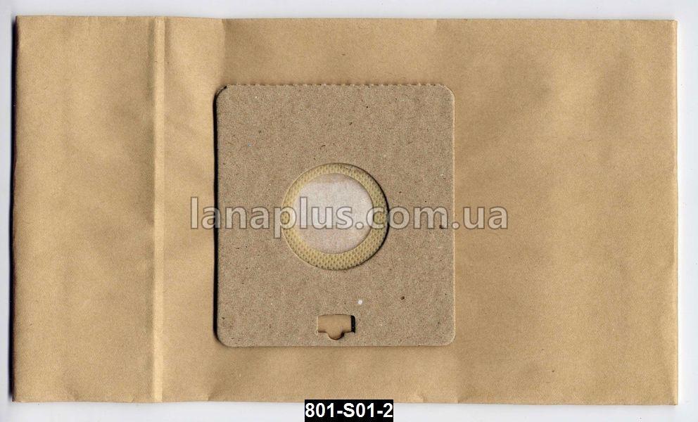 Мешки для пылесоса Samsung, 5 шт + фильтр, пылесборник S-01 C-II бумажный