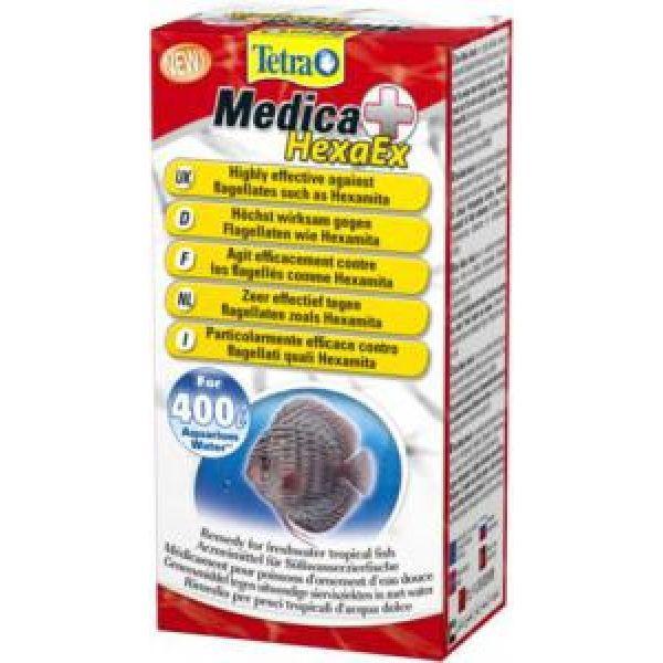 Tetra Tetra Medica HexaEx лекарство для аквариумных рыб