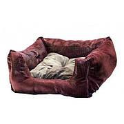 """Мягкое место, лежак для собак и кошек """"Бонни"""" , 50*50*20 см"""