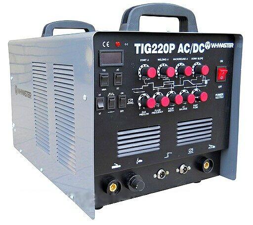 Сварочный инверторный аргонно-дуговой аппарат W-MASTER TIG-220P AC\DC (NEW) - «Сварочник» в Харькове