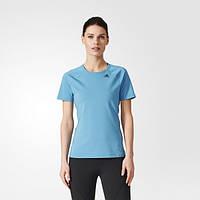 Спортивная футболка женская adidas D2M BQ5826 приталенная