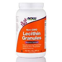 БАД Лецитин в гранулах,  Lecithin, Now Foods, без ГМО, 907 г