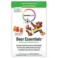 БАД Витамины для детей, Multivitamin & Multimineral, Rainbow Light, 30 пакетиков по 3шт.