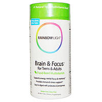 БАД Витамины для мозга подростков, Brain for Teens & Adults, Rainbow Light, 90 т.