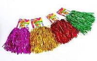 Помпоны болельщика (махалки) для черлидинга и танцев Pom Poms L-40см CH-4875