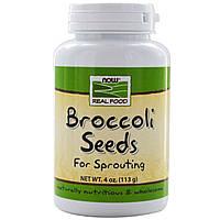 БАД Экстракт брокколи семена, Broccoli Seeds, Now Foods, 113 гр.