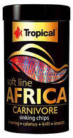 Корм для плотоядных африканских рыб Tropical Soft Line Africa Carnivore 67523 100 мл
