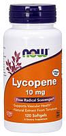 БАД Ликопин (Lycopene), Now Foods, 10 мг, 120 гелевых капсул