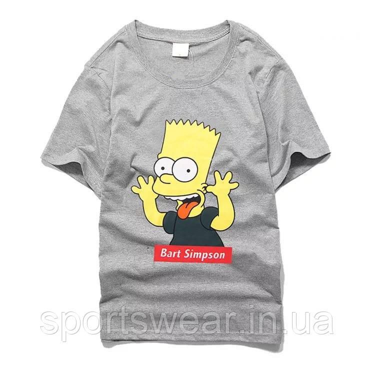 Купить Футболка Supreme Bart Simpson | Футболка Суприм Барт Симпсон №3 В стиле Supreme