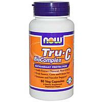 БАД Витамин С биокомплекс, Now Foods, 60 капсул
