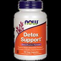 БАД Очищение организма, Detox Support, Now Foods, 90 капсул