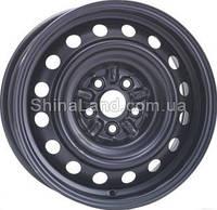 Стальные диски KFZ 8435 Toyota 6.0x15/5x100 D54.0 ET39 (Black)