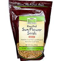 БАД Семена подсолнечника (соленые), Sunflower Seeds, Now Foods, 454