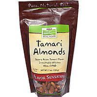 БАД Миндальные орехи (cоус Тамари), Tamari Almonds, Now Foods, 198