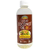 БАД Кокосовое масло, Coconut Oil, Now Foods, жидкое, 473 мл