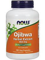 БАД Смесь трав, оджибва, Ojibwa Herbal, Now Foods, экстракт, 450 мг, 180 капсул