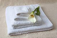 Махровое полотенце размером 30*30 белое для отеля