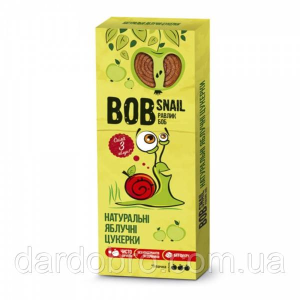 Натуральные яблочные конфеты-пастила Bob Snail Равлик Боб, 30 г