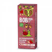 Натуральные яблочно-клубничные конфеты-пастила Bob Snail Равлик Боб, 30 г
