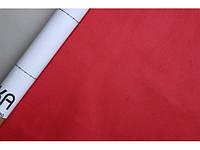 Самоклеющаяся Алькантара Южная Корея красный 90х145 см.