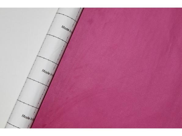 Самоклеющаяся Алькантара Южная Корея розовый 90х145 см.