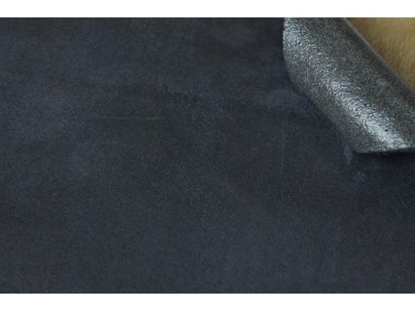 Алькантара (на поролоне) Южная Корея темно-серый 90х140 см.