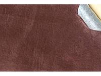 Самоклеюча Алькантара (на поролоні) Південна Корея коричневий 90х140 див.