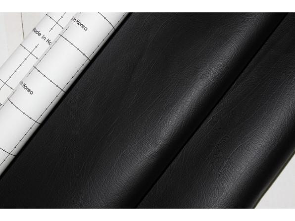 Кожзам самоклеющийся черный 90х135 см.
