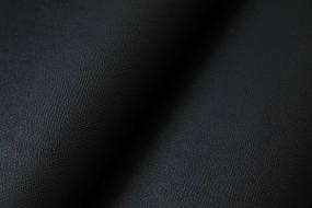 Кожзам самоклеющийся структурный черный 90х135 см.