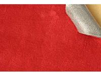 Самоклеющаяся Алькантара (на поролоне) Южная Корея красный 90х140 см.