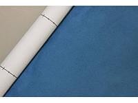 Самоклеющаяся Алькантара Южная Корея голубой 90х145 см.