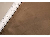 "Алькантара Южная Корея коричневый ""хаки"" 90х145 см."