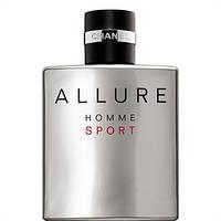 Оригинал Chanel Allure Homme Sport 100ml Шанель Аллюр Хом Спорт (харизматичный, бодрящий, мужественный аромат)