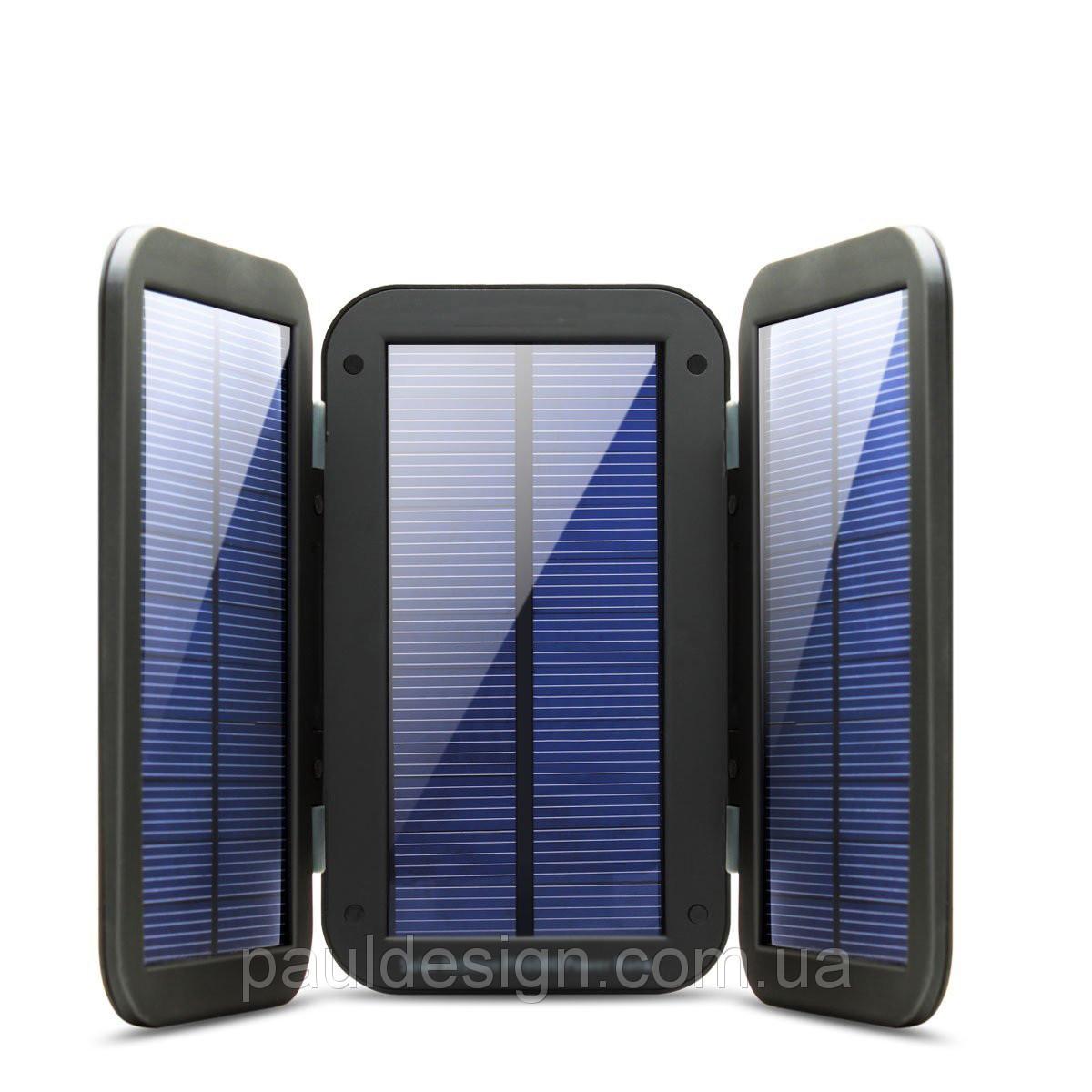 Портативная солнечная батарея с 3-мя раскладными панелями