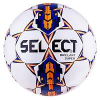 Мяч футбол Select Briliant Replica Duxon Orange/Silver