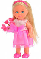 Кукла Эви Подружка невесты в розовом с цветами, Steffi & Evi Love, розов (573 2336-1)