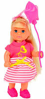 Кукла Эви с праздничным розовым шариком, Steffi & Evi Love, роз.шар (573 2298-1)