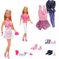 Набор с куклой Штеффи Модный гардероб, Steffi & Evi Love (573 6015)
