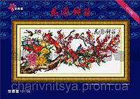 Набор для вышивания крестиком Цветущее дерево
