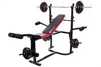 Набор Strong 134,5 кг со скамьей HS