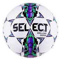 Мяч футбол Select Briliant Super Duxon Purple