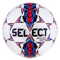 Мяч футбол Select Briliant Super Duxon Red