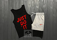 Комплект мужской шорты и майка Nike