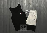 Комплект мужской шорты и майка Tommy Hilfiger