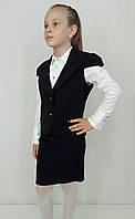 """Школьная форма для девочки - жилет и юбка """"Крылышко"""", фото 1"""