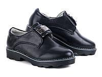 Туфли школьные на девочку  (31-36)  Башили